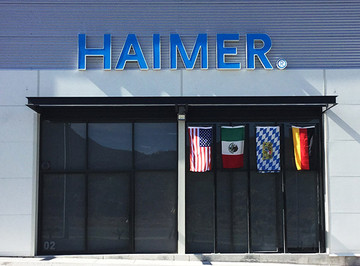 Founding of the sales and service subsidiary HAIMER Mexico