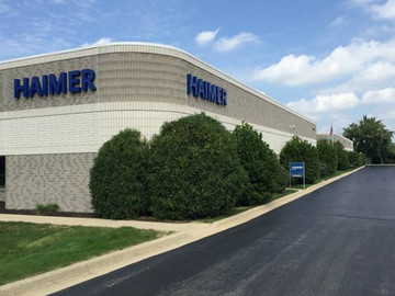 Founding of the sales and service subsidiary HAIMER LLC in Chicago