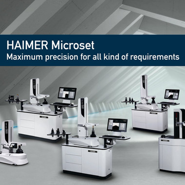 HAIMER Microset Video, thumbnail for presetting and measuring tools